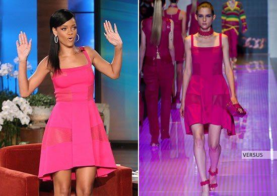 летние платья 2013 от versus