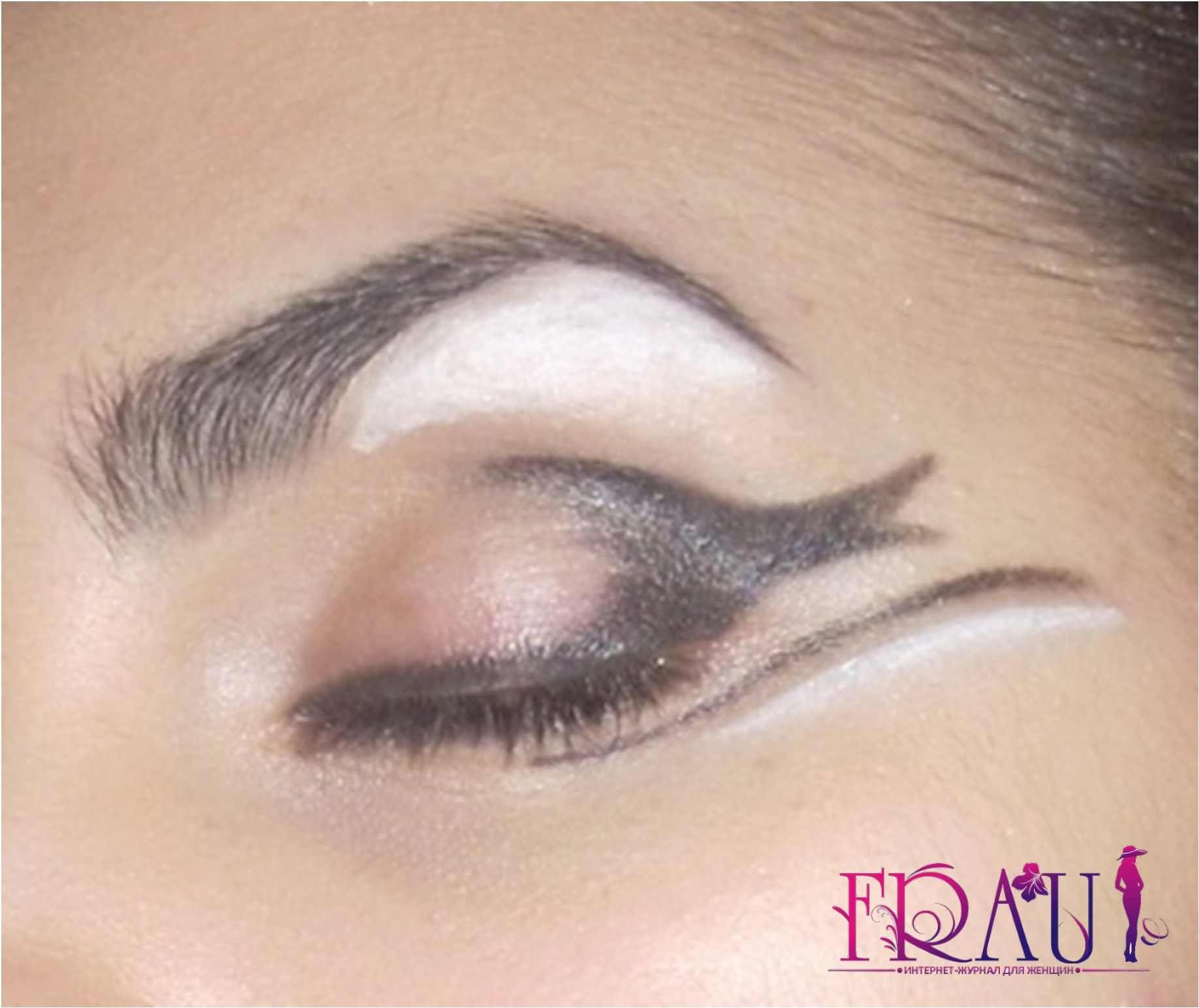 макияж для карих глаз мелкие штрихи