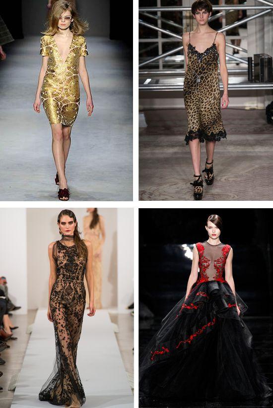 дизайнерские платья на новый год