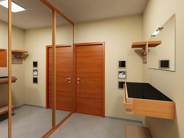 современный дизайн прихожей в квартире