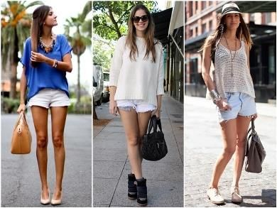 модные шорты для девушек фото