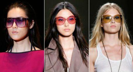 очки от солнца с цветными линзами