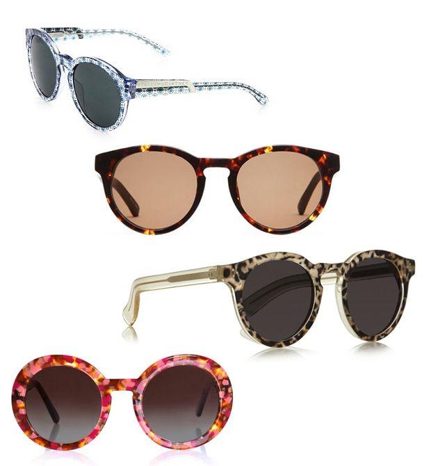 очки с леопардовым принтом на оправе