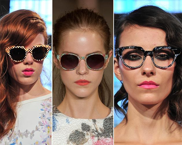 солнечные очки летний тренд