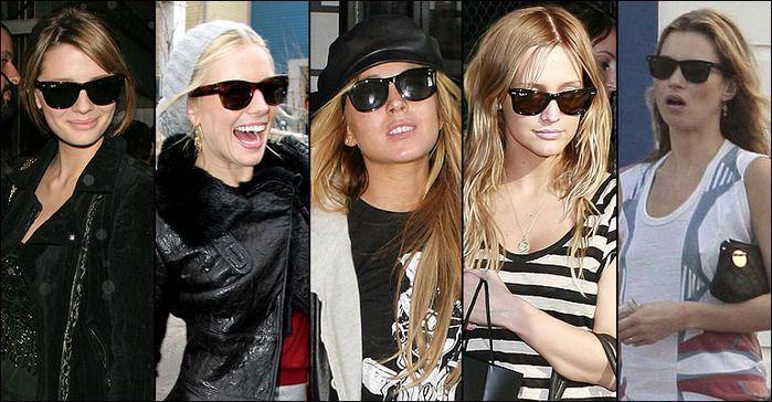 солнцезащитные очки капельки снова модны
