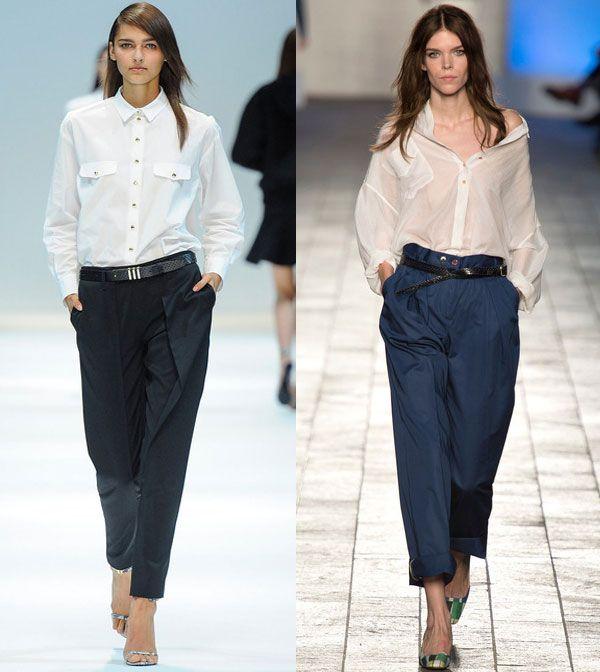 блузки-рубашки в классическом стиле