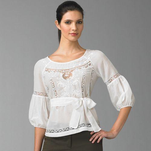 блузки с рукавами баллон