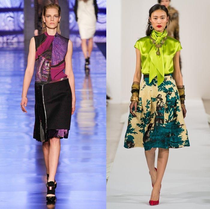 блузы от Oscar-de-la-Renta