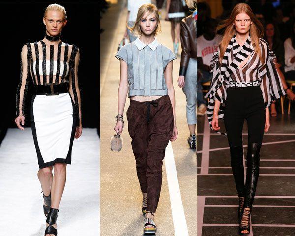 модные блузки в полоску