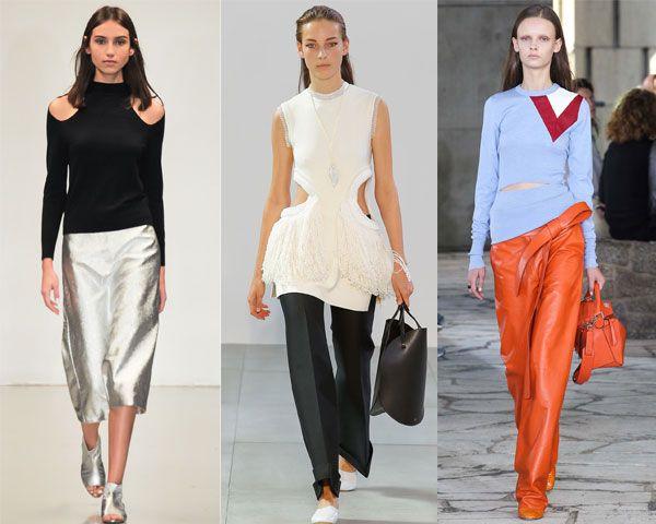 модные блузки в сочетании с креативностью
