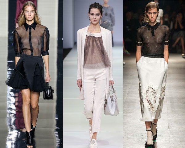 стильные и легкие блузки
