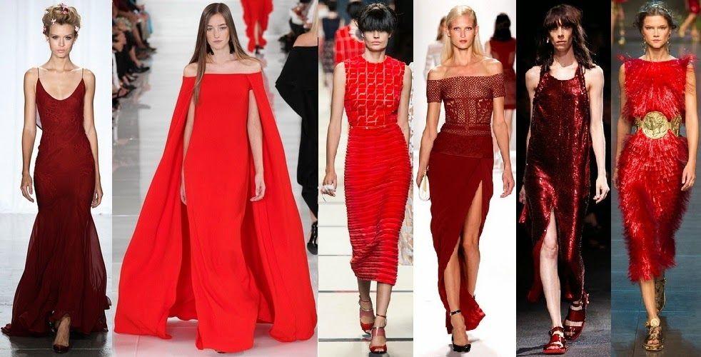 Интересные цветовые решения для вечерних платьев