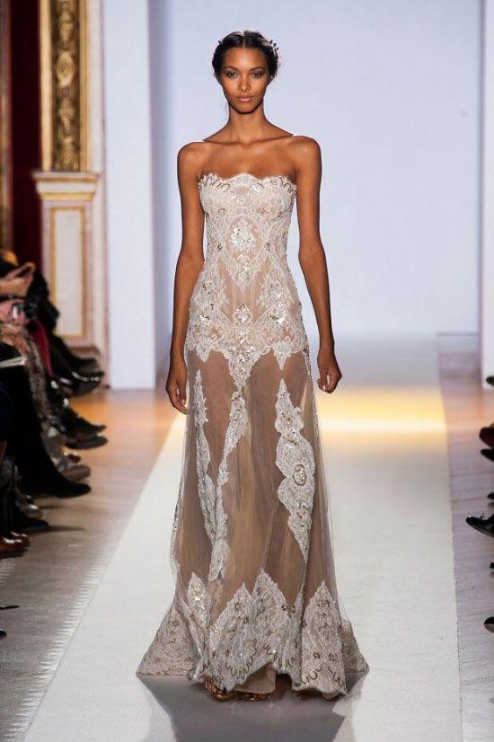 модное платье в пол с кружевом