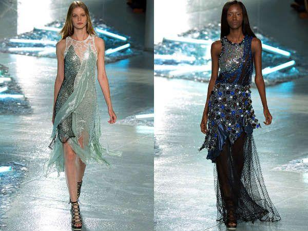верние платья - модели года