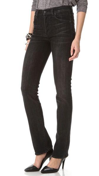Мода на джинсы с завышенной талией