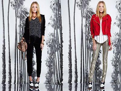 Однотонные джинсы тоже в моде