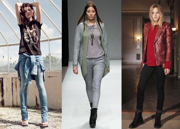 Узкие джинсы модны как никогда