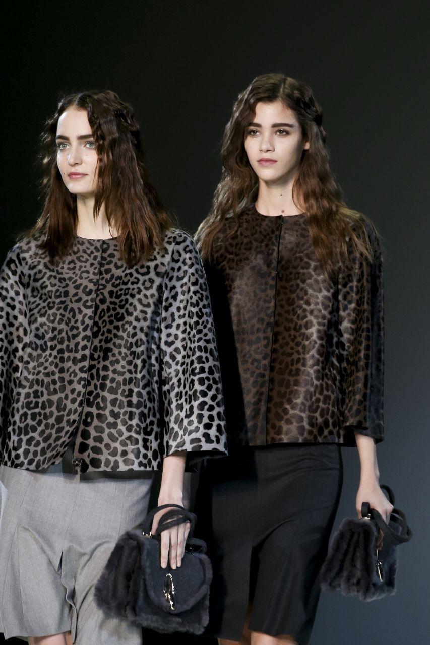 Giorgio Armani и пиджак с леопардовым принтом