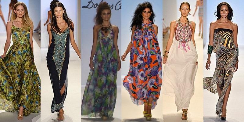 Мода на сарафаны в 2015 году