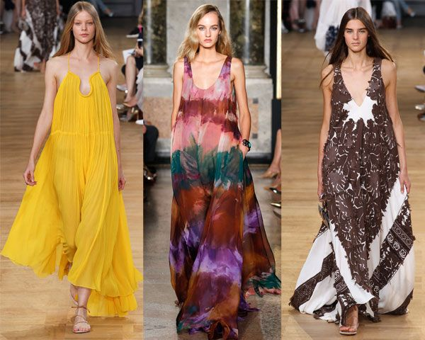 Модные сарафаны для пышных форм