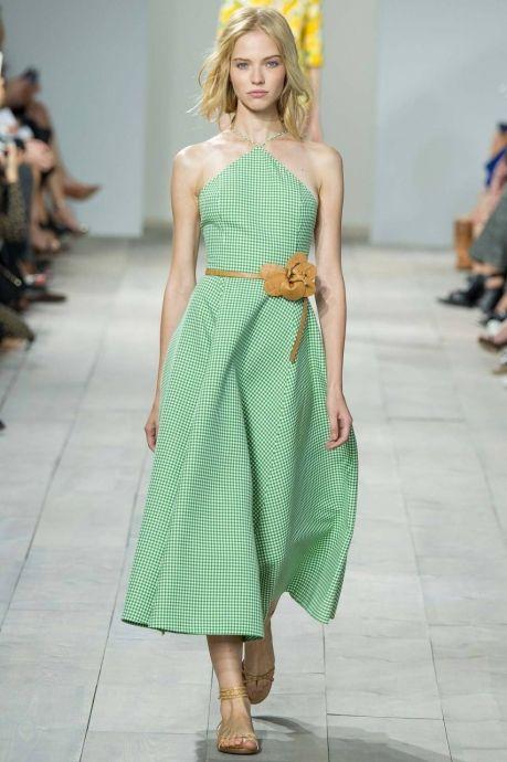 Модные сарафаны с геометрическими фигурами