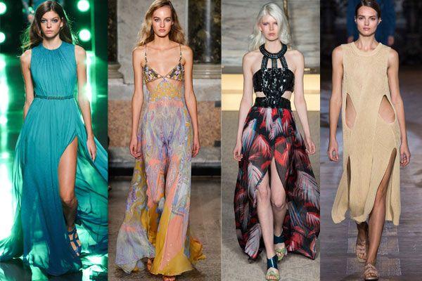 Модные сарафаны с креативными вырезами