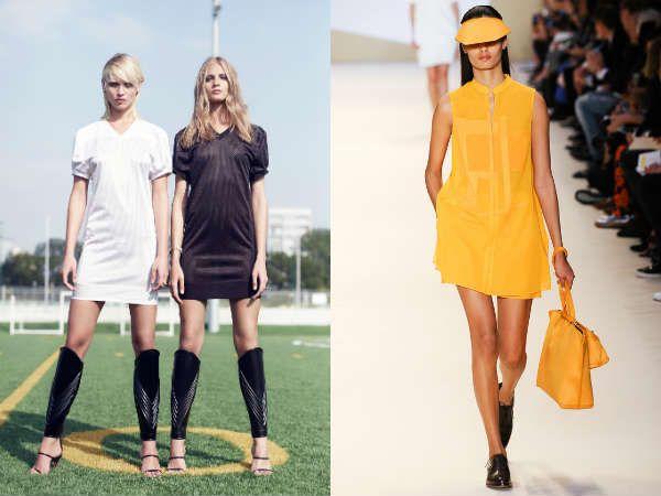 Модные туники для спортивных девушек