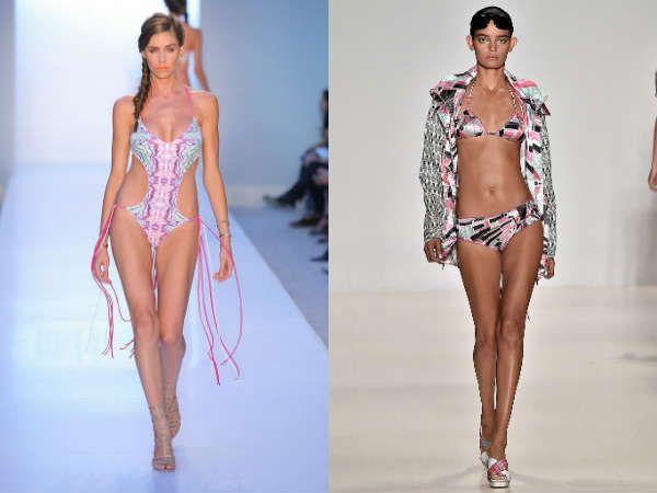 Модный показ купальников на сезон 2015
