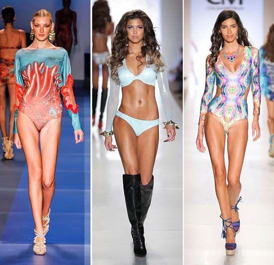 Яркие и креативные купальники от знаменитых модных домов