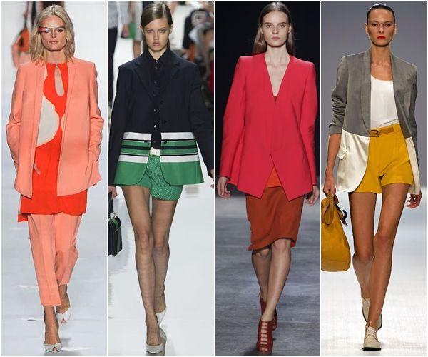 жакеты и пиджаки из модных коллекций