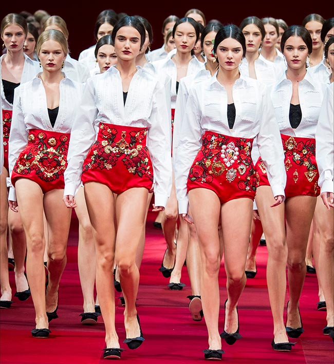DolceGabbana летняя мода 2015