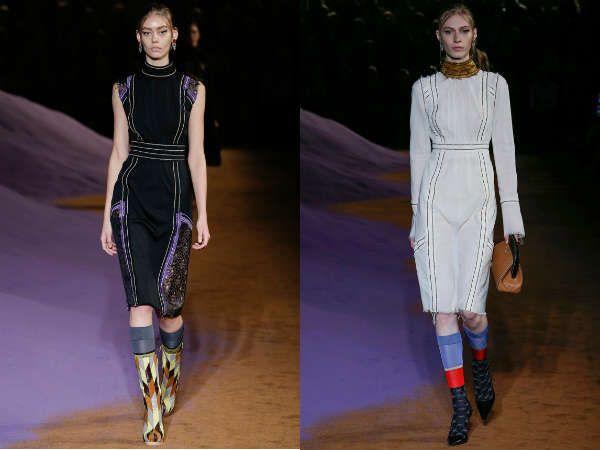 Креативные платья для офисов от модельеров