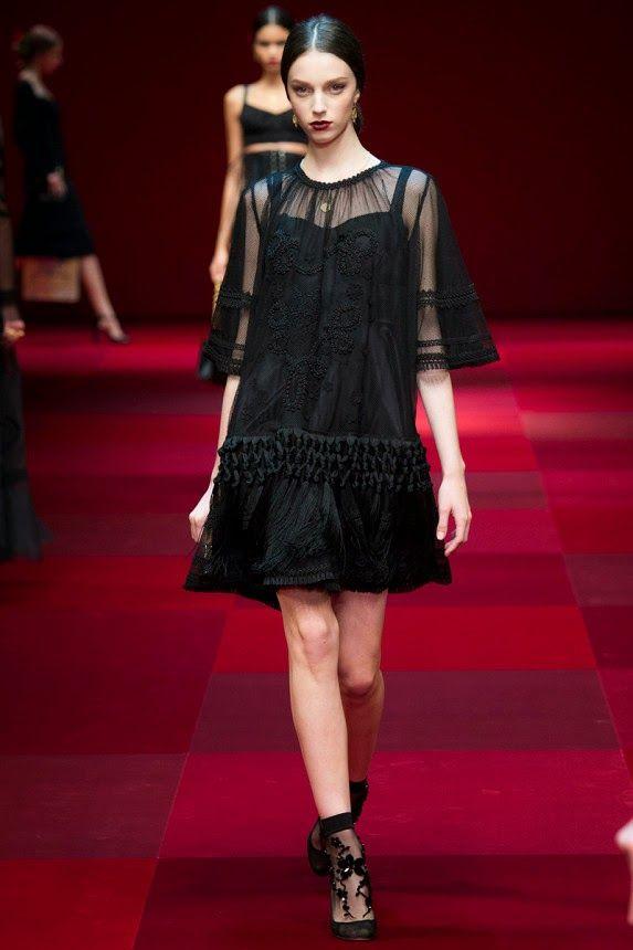 Лучшие платья из коллекции Дольче Габана