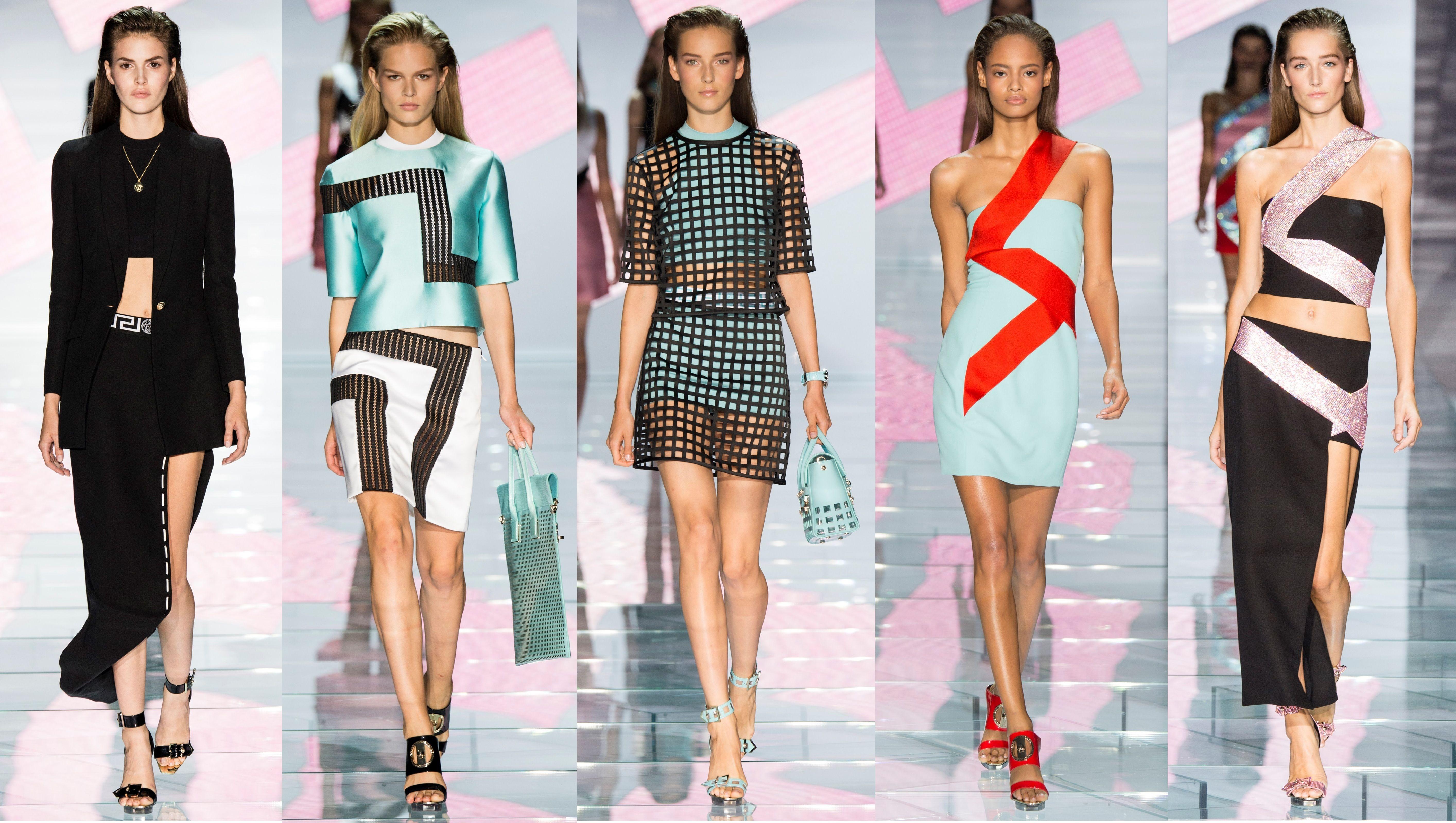 Модная и молодежная одежда от Версаче
