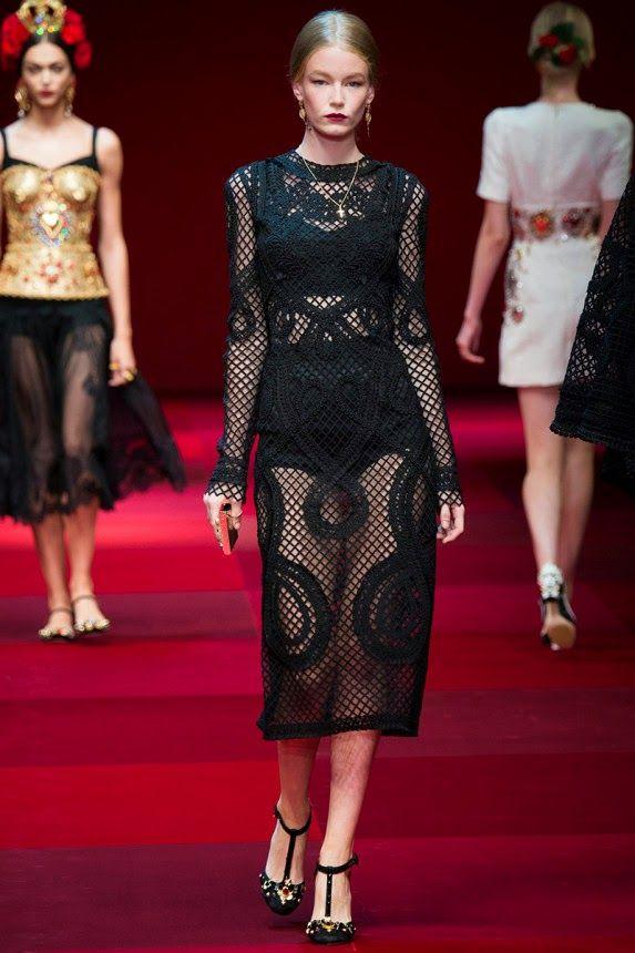 Модное платье сеточка