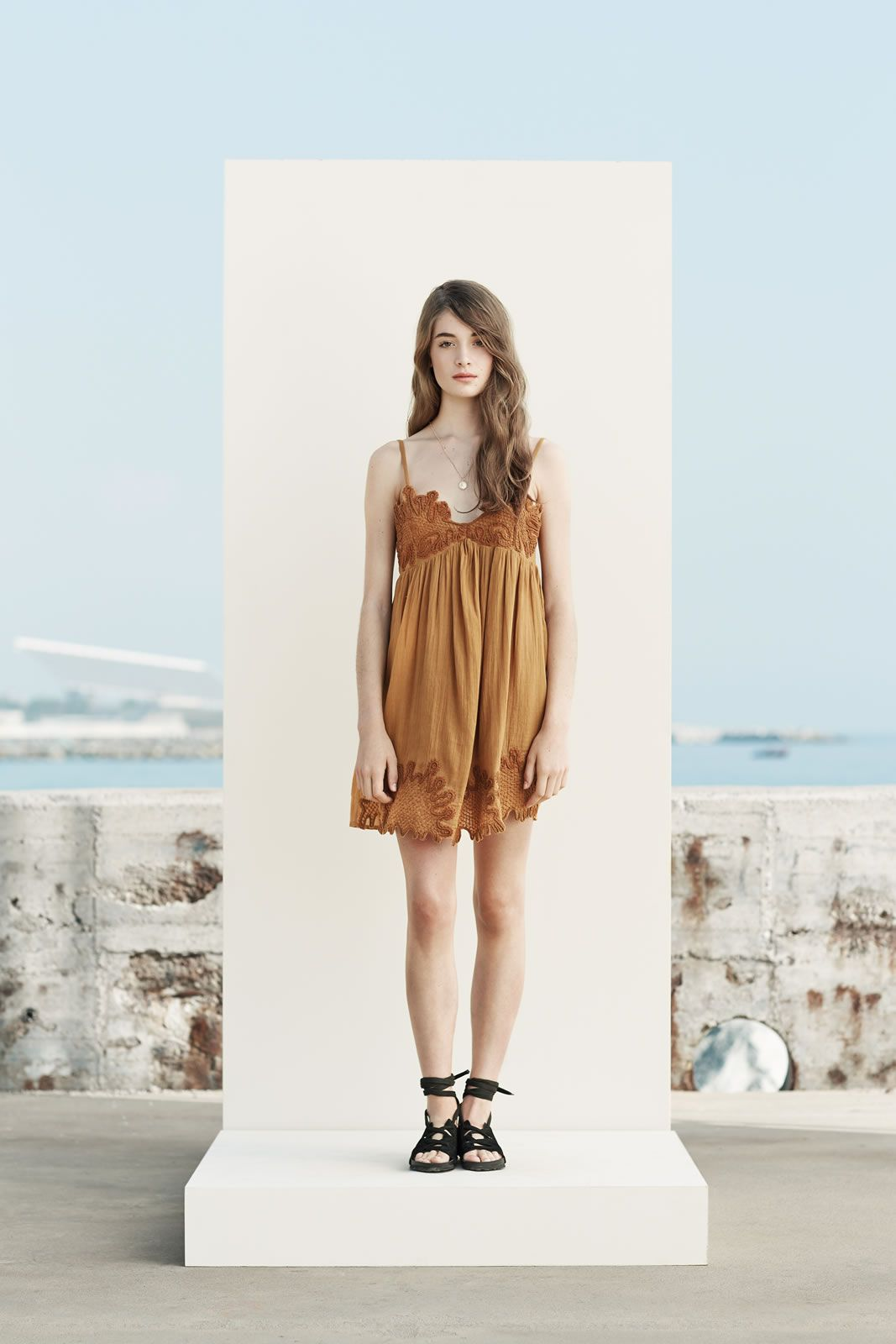 Модные бесформенные платья для женщин