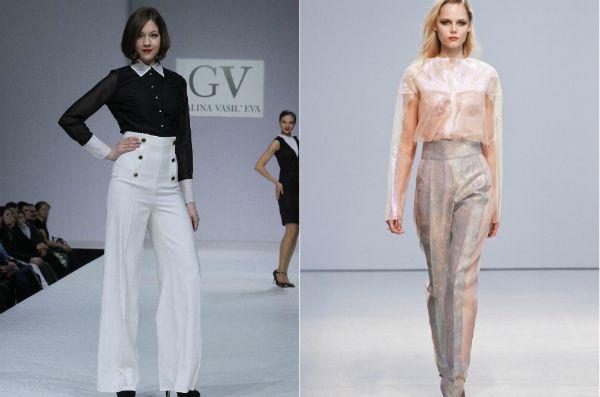 Модные брюки для девушек