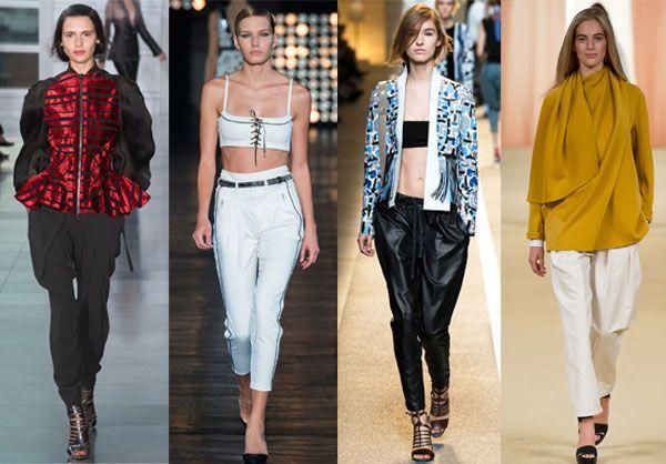 Модные модели брюк для женщин