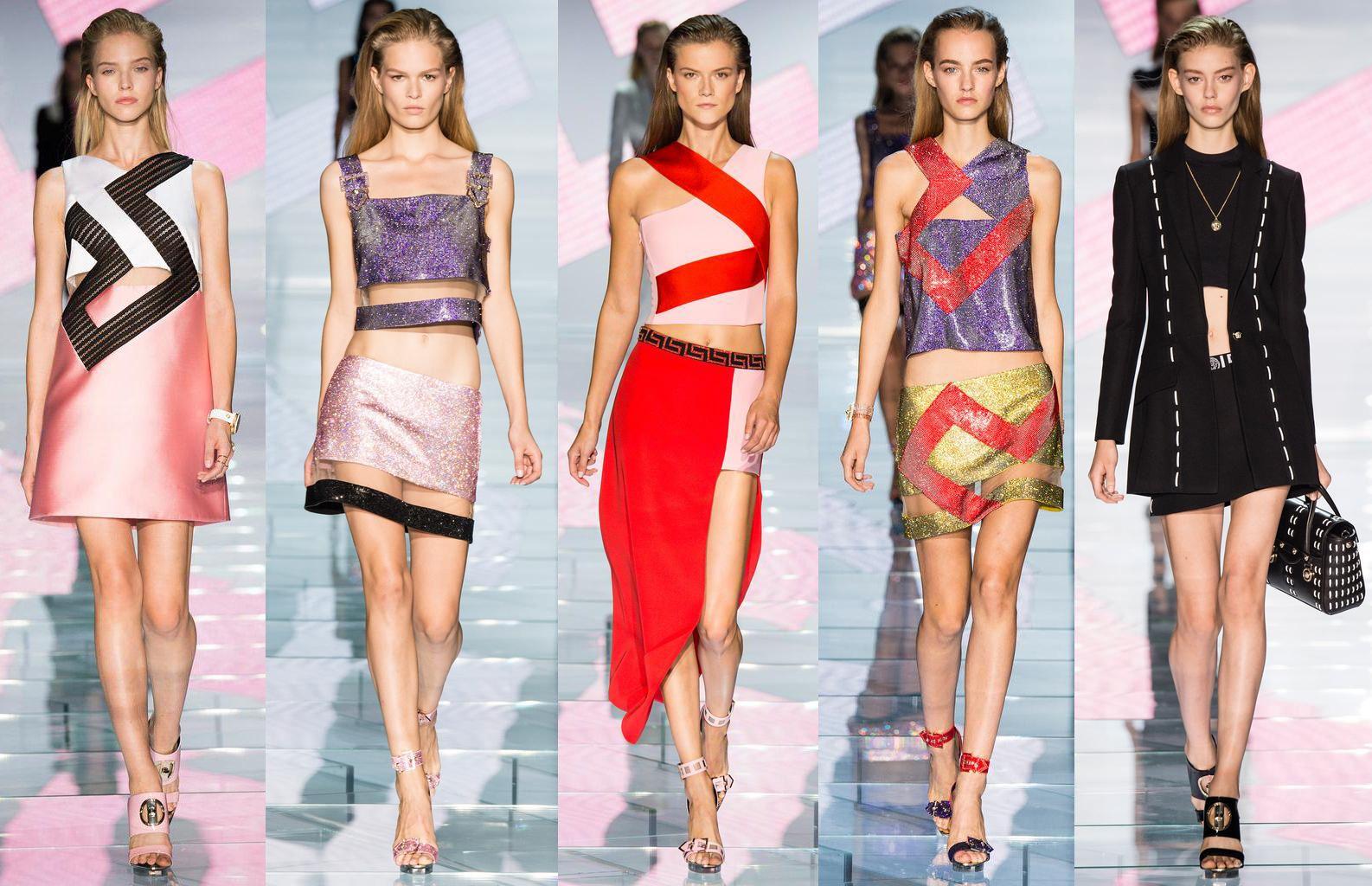 Смотри коллекцию versace во всей красе