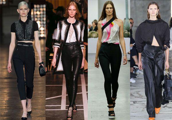 Завышенная талия и женские брюки современности