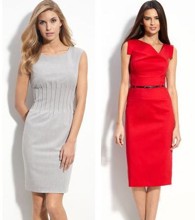 Деловое и строгое платье футляр для любых офисов
