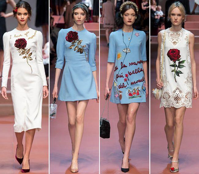 Dolce Gabbana представляет коллекцию вечерних платьев