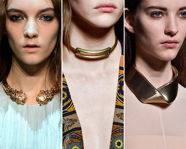 Креативные ожерелья от модельеров на новый год
