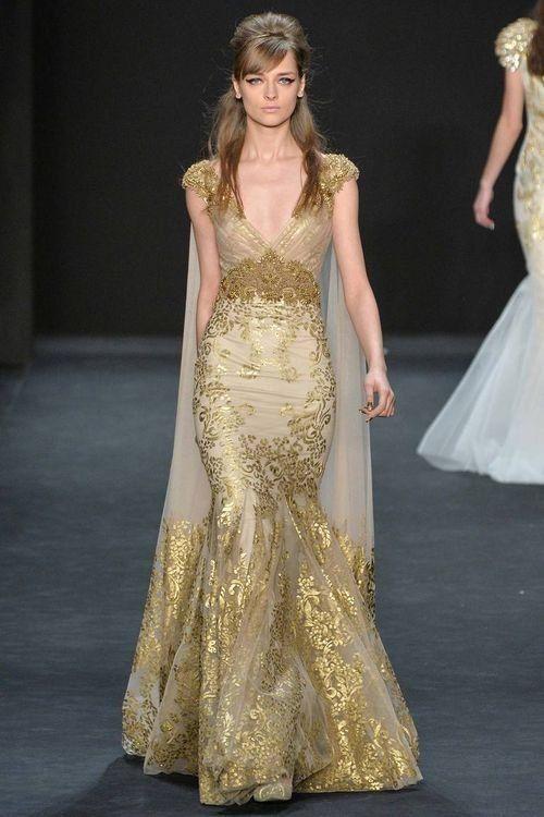 Модное платье в стиле русалочьего
