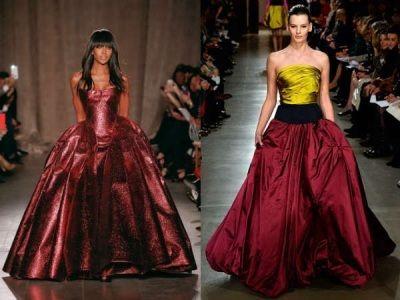 Модные бальные вечерние платья