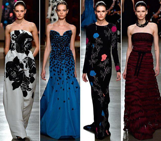 Oscar de la Renta коллекция вечерних платьев