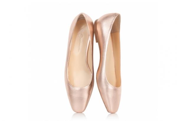 Скромные но удобные балетки на праздник