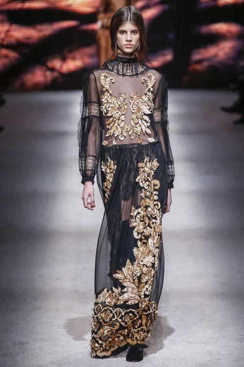 Стильное платье барокко для женщин