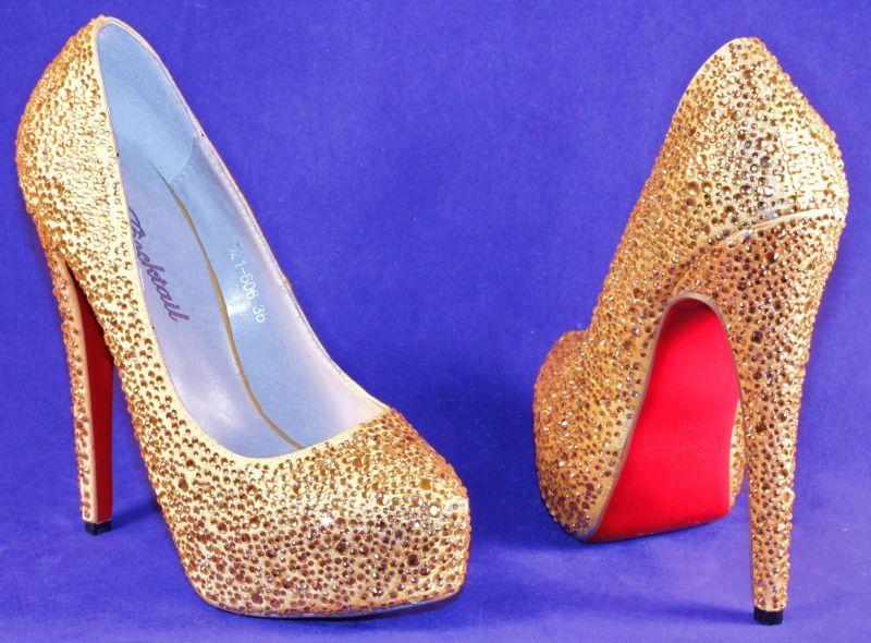 Туфли на новый год для ценителей моды