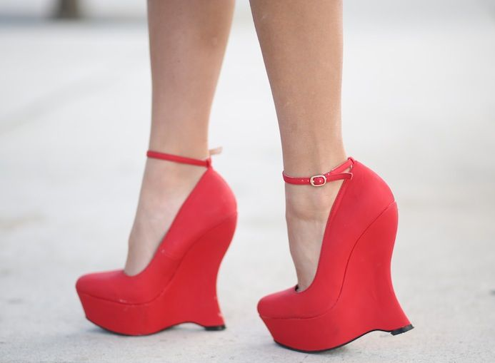 Туфли на плотформе для встречи нового года